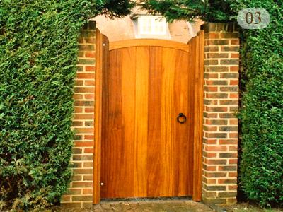 Wooden Garden Gate aralsacom